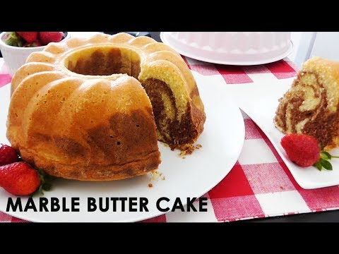 Resep BOLU MARMER Tanpa Baking Powder | Marble Butter Cake Recipe | Trivina Kitchen
