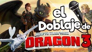 El doblaje latino de Como Entrenar a tu Dragon 3 (MEGA CONCURSO)/ Memo Aponte