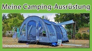 Meine Camping-Ausrüstung | Roomtour | Camping mit Kind | Werbung da Markennennung | selbst bezahlt