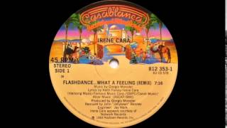 Irene Cara - Flas Ance... What A Feeling  Extended Version  Casablanca Records 1983