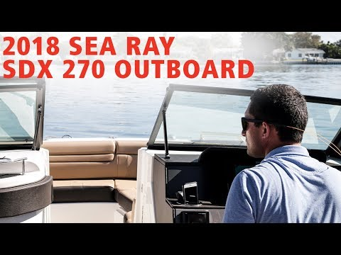 2019 Sea Ray SDX 270 Outboard For Sale at MarineMax Sarasota