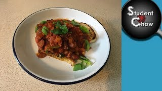 Dinner by Dice: Beans on Toast