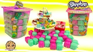 Full Box Shopkins Surprise Blind Bag Tub of 2 Mystery Season 5 Petkins Backpacks - Cookieswirlc