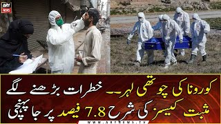 Pakistans coronavirus positivity rate jumps to 7 8%