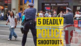 Top 5 Crazy Police Shootouts