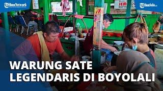 Warung Sate Legendaris di Boyolali: Berdiri 10 Tahun Setelah Indonesia Merdeka