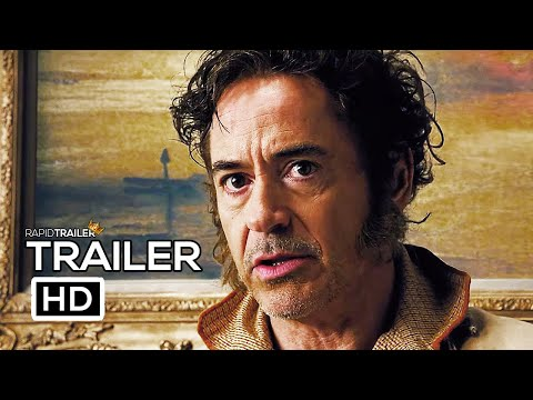 DOOLITTLE Official Trailer (2020) Robert Downey Jr., Tom Holland Movie HD
