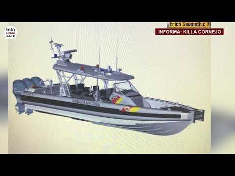 Armada Colombiana compra a Cotecmar cuatro nuevos botes Safe Boats
