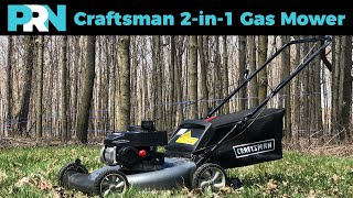 Craftsman 2-in-1 Gas Lawn Mower Review