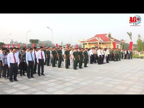 Lãnh đạo tỉnh viếng Nghĩa trang liệt sĩ tỉnh nhân dịp Tết nguyên đán Mậu Tuất 2018