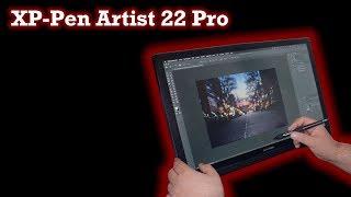 XP Pen Artist 22 Pro HD, Grafikdisplay für Bildbearbeitung geeignet? Deutsch