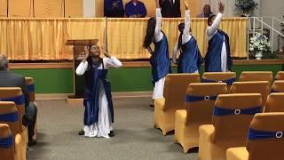 "NDBC Praise Dance - ""You Know My Name"" by Tasha Cobbs (ft. Jimi Cravity)"