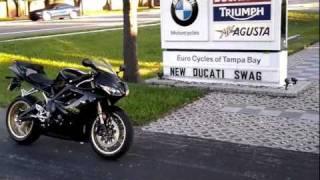 2011 Triumph Daytona 675 Black Euro Cycles Of Tampa Bay