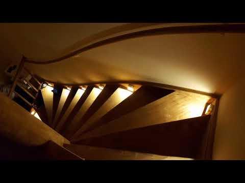 LED Treppenbeleuchtung Bewegungsmelder Batterie