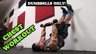 Intense 5 Minute Dumbbell Chest Workout #2 by Anabolic Aliens