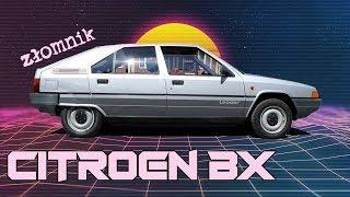 Złomnik: Citroen BX - auto w stylu synthwave