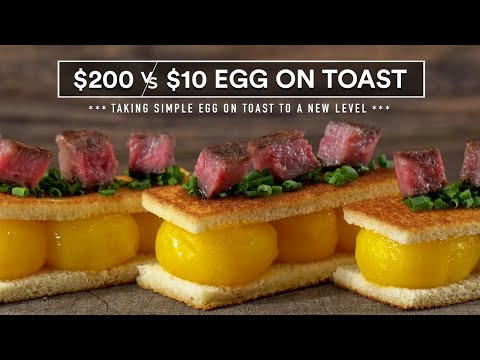 $200 Egg on Toast vs $10!