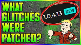 Fallout 76 - What Glitches Did Bethesda Patch in Update 1.0.4.13? (In Depth Look)