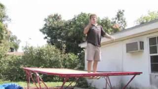 Trampoline Tricks: Back Handspring