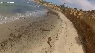 RC Plane With GoPro Hero 2 Over Pacific Beach, San Diego