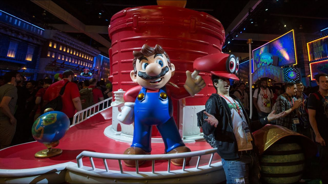 Tour New Donk City at Nintendo's 2017 E3 booth thumbnail