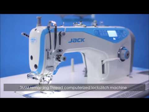 Jack A5 Semi-Dry Computerized Lockstitch Machine
