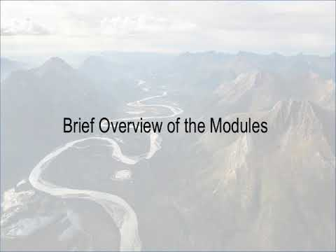 Brief Overview of the Modules