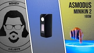 Бокс мод Asmodus Minikin V2 от компании Vape Shop Good Vape - видео