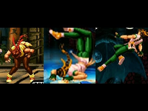 Yuri's moans and poses Ryona. King of Fighters