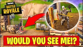 HOW DID HE NOT SEE ME!?! HIDE & SEEK in Fortnite Battle Royale | Kholo.pk