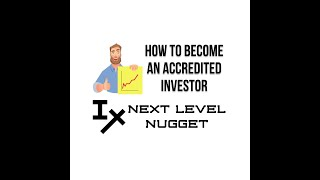 How To Become An Accredited Investor