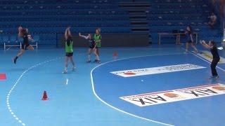Handball : l'accès au tir de loin, séance par Marc Drusian