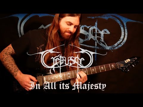 "Crepuscle - ""In All its Majesty"" (Guitar Playthrough)"