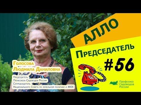 Алло, Председатель?!#56 Как сохранить 100% садоводств при вступлении 217 Ф.З.