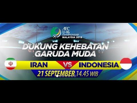 live-streaming timnas u16 indonesia vs iran afc u16 hari ini