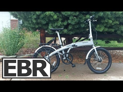 Oyama CX E8D Video Review – Lightweight, Rigid, Folding Electric Bike
