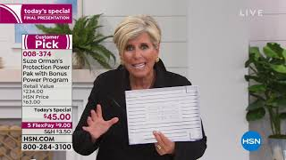 HSN | Suze Orman Financial Solutions for You 01.07.2019 - 10 PM