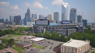 Where would new Carolina Panthers stadium be?