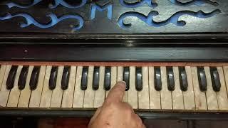 Nainon Mein Badra Chhaye | Mera Saaya | Harmonium Tutorial | Piano/ Keyboard Tutorial