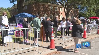 Long lines daily to vote early in Virginia Beach
