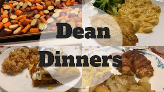 What's For Dinner || DEAN DINNERS || In The Kitchen