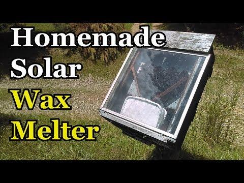 , title : 'Homemade Solar Wax Melter (Rendering Beeswax)