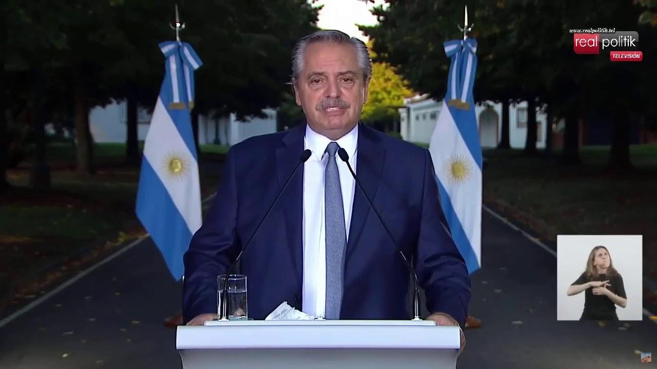 Segunda ola: Alberto Fernández anunció nuevas restricciones ante el aumento de casos de COVID-19