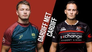 LIVE BUCS SUPER RUGBY 18/19: Cardiff Met vs Cardiff