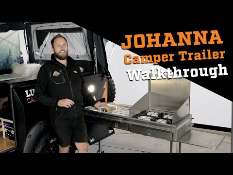 Johanna Camper Trailer Walk-through