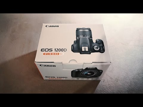 Unboxing Canon EOS 1200D Kit 18-55mm f/3.5-5.6 IS II DSLR