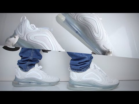 Nike Air Max 720 ''White'' (review) | UNBOXING & ON FEET