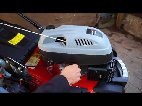 GartenXL 18-139-M3 Benzin Rasenmäher 4in1 46cm GT Selbstantrieb Mulch Seitenauswurf Q-clean
