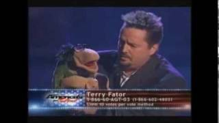 Terry Fator & Roy Orbison Sang The Duet Of Crying !! WOW!!