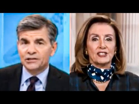 Even George Stephanopoulos Can't Believe Nancy Pelosi is Giving Up